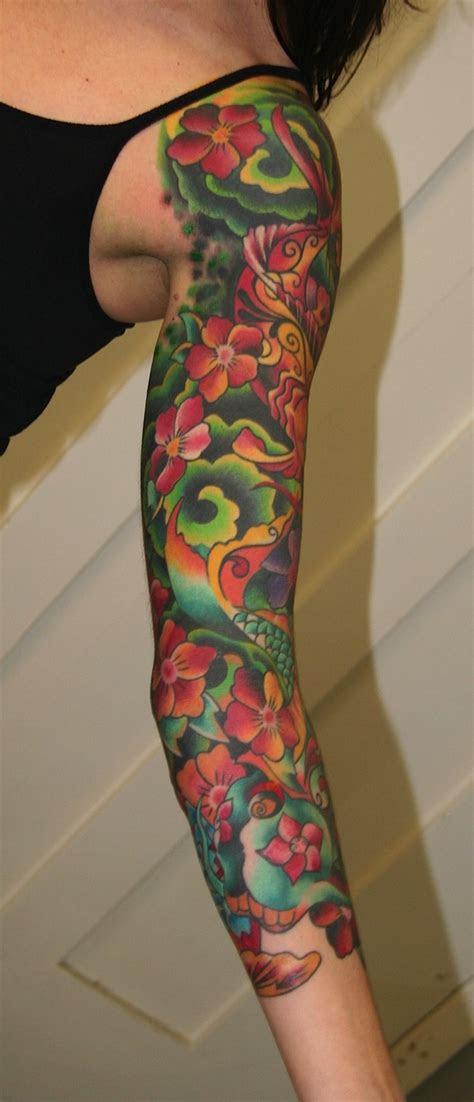 latest girls sleeve tattoos designs wallpaper hd