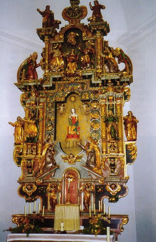 Maria Rickenbach Shrine Altar