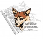 Norwegian Lundelund Dog Intarsia or Yard Art Woodworking Pattern - fee plans from WoodworkersWorkshop® Online Store - Norwegian Lundelund Dogs,pets,intarsia,yard art,painting wood crafts,scrollsawing patterns,drawings,plywood,plywoodworking plans,woodworkers projects,workshop blueprints