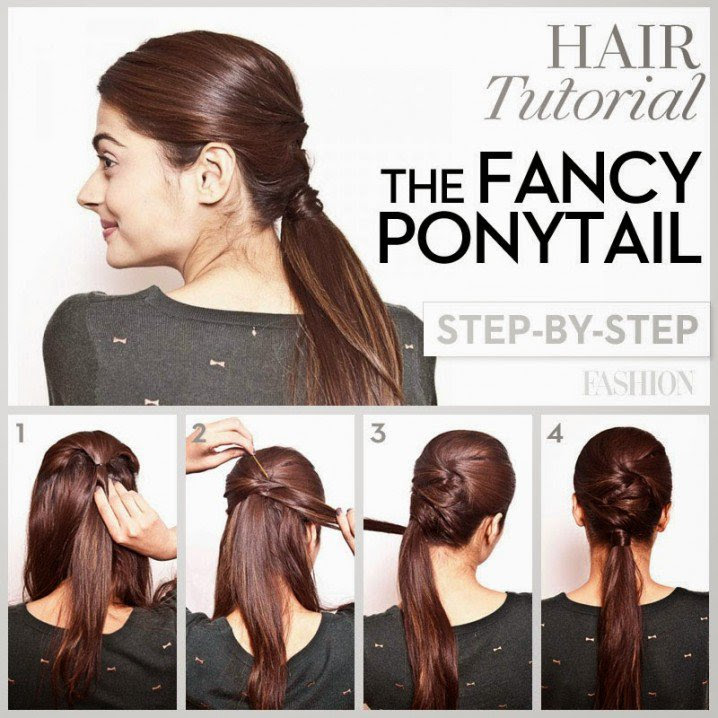 Pony Hairstyle Step By Step Which Haircut Suits My Face