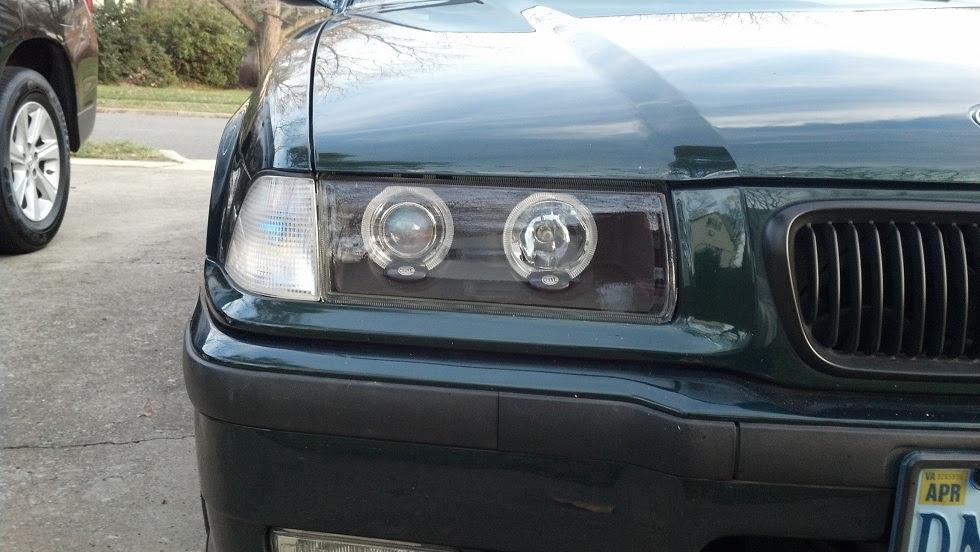 Upgrading My E36 M3 Headlights With Hella Shadowline Euro Kit