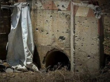 PHOTO: Targets for the ground offensive in Gaza launched by Israel include Hamas rocket launchers