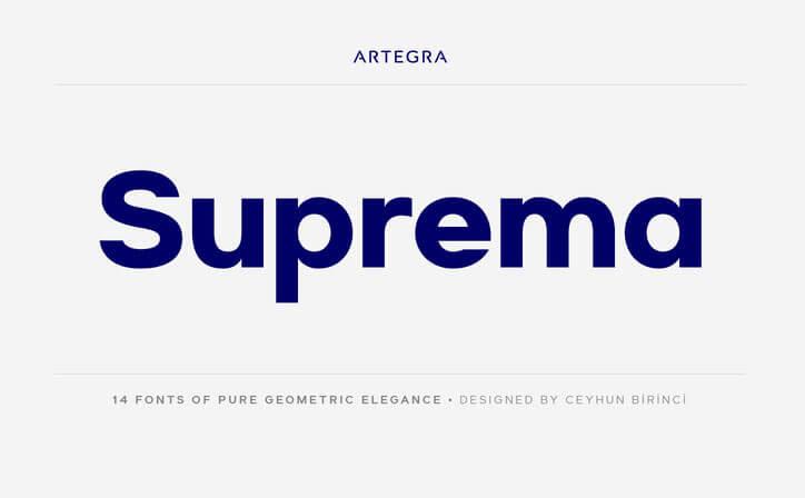 suprema-font-family