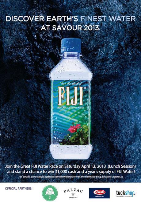 Fiji Water @ Savour 2013
