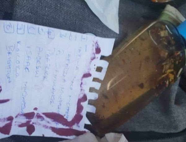 Zimbabwean Man Discovers Love Potion With List Of Lovers In Girlfriend's Bag (Photo)