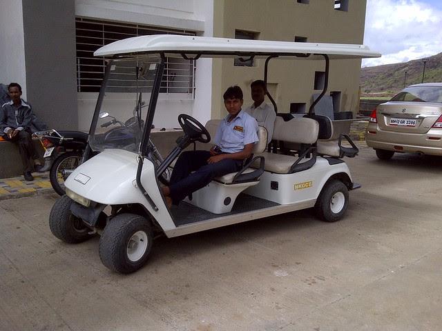 Pride Platinum - electric golf cart for site visit - Visit Amit's Sereno, Reelicon Alpine Ridge, Pride Platinum, Welworth Paradise, Venkateshwara Mirabel & Pride Valencia, near Pancard Clubs, Baner, Pune 411045