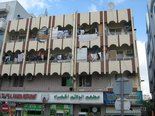 Apartment building at Diera
