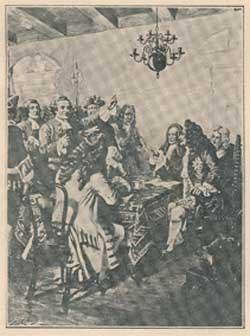 Rev. Francis Makemie on Trial before Lord Cornbury