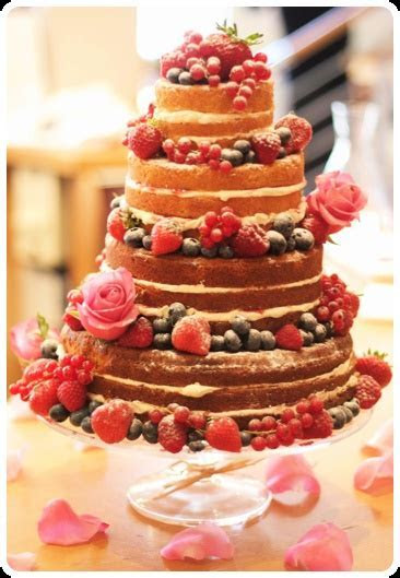 Victoria Sponge Wedding Cake   A beautiful four tier