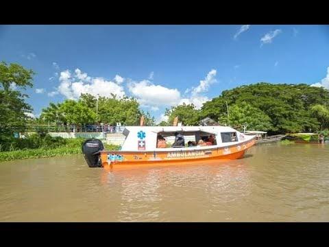 Denuncian sabotaje contra ambulancia acuática entregada por el Gobernador Caicedo