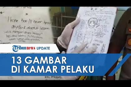 POPULER: Polisi Ungkap Makna 13 Gambar Misterius Milik Siswi SMP Pelaku Pembunuhan Balita