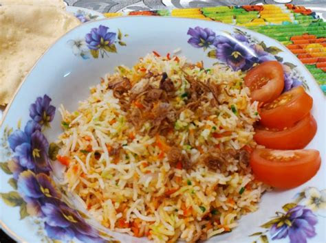 resepi nasi beriani gam mudah  sedap myresipiinfo