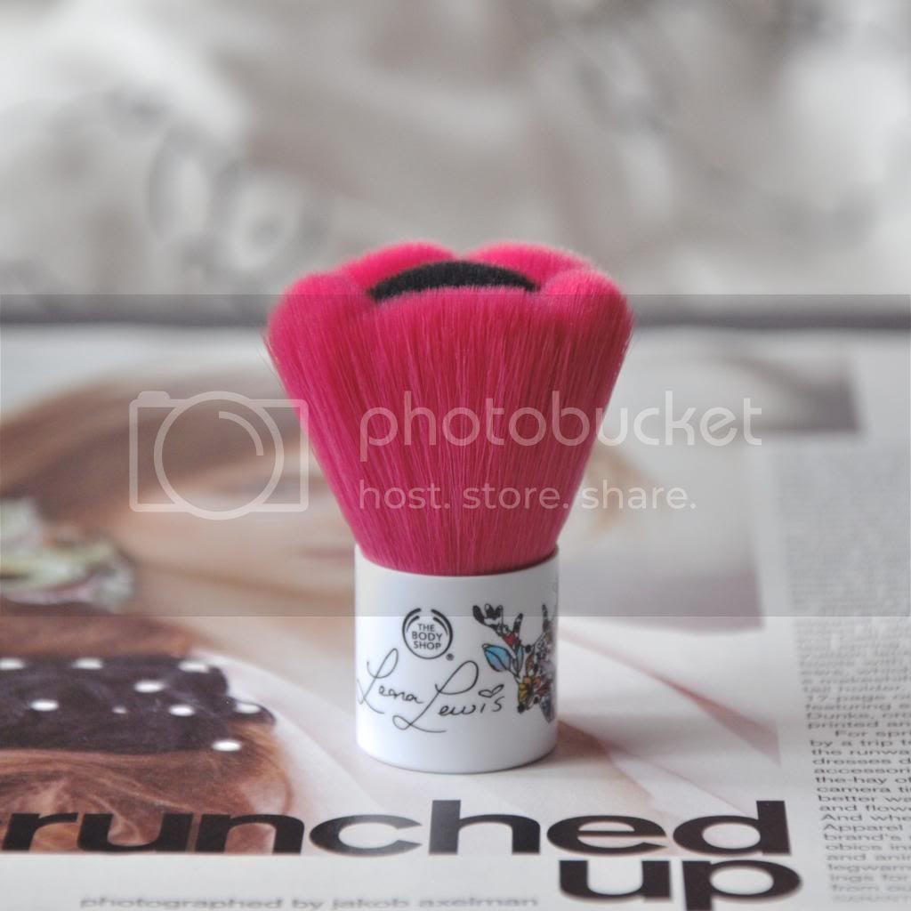 the body shop oh deer blusher brush review