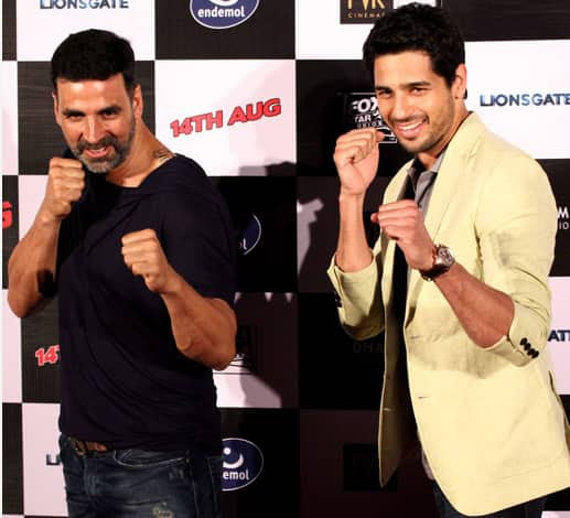The Brothers Were in Action at the Movie's Trailer Launch