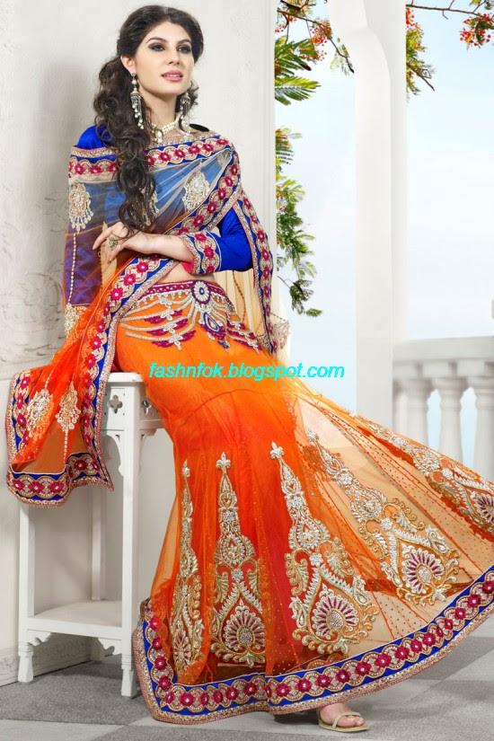 Indian-Brides-Bridal-Wedding-Fancy-Embroidered-Saree-Design-New-Fashion-Hot-Sari-Dress-1