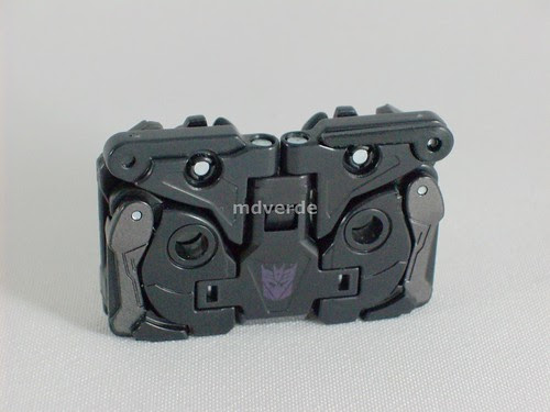 Transformers Ravage Classics Henkei - modo casete (by mdverde)