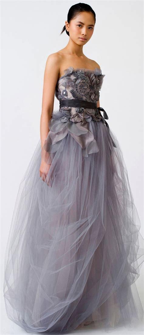 No one does non white wedding dresses like Vera Wang