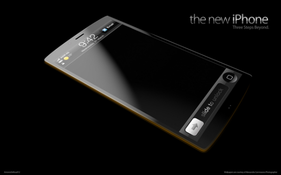 new iPhone 1 550x343 The New iPhone 5 Concept