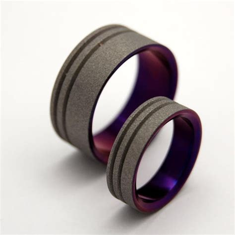 minter richter titanium rings unique wedding rings