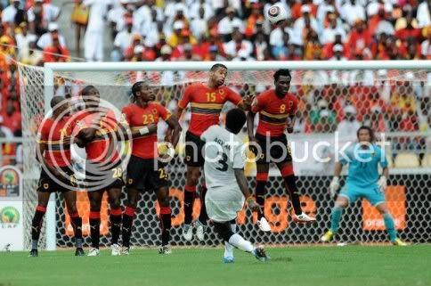 Gana afasta Angola da CAN 2010