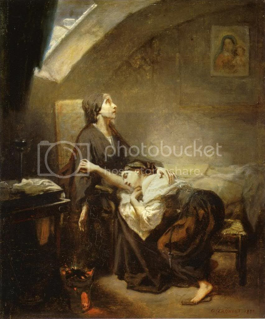Octave Tassaert. An Unfortunate Family (1852)