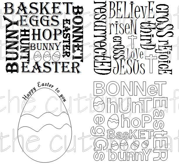 Easter set 1