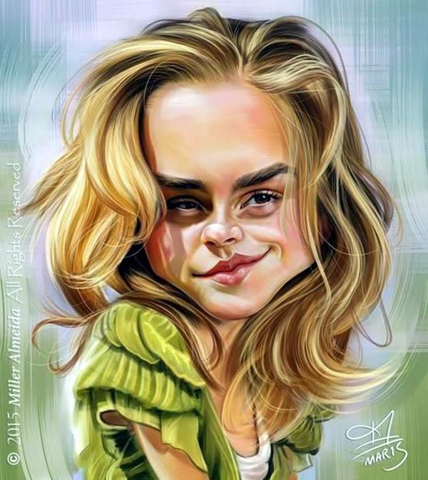 Portrait Caricatures Of Famous Peoples (35)