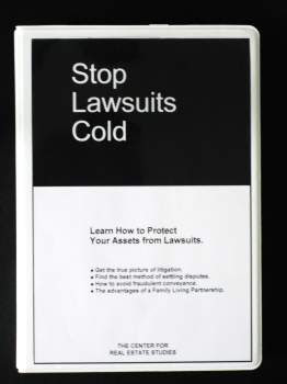 Stop Lawsuits Cold