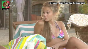 Bruna Quintas sensual nas novelas Belmonte e Terra Brava