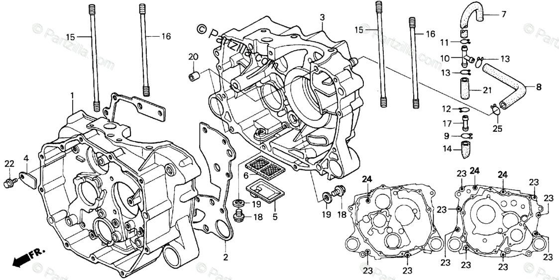 31 Honda Recon 250 Parts Diagram