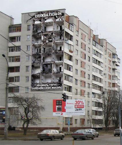 Seorang pakar dalam dunia periklanan berjulukan David Ogilvy pernah berkata    10 Iklan Terunik Pada Bangunan