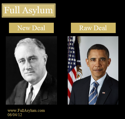 New Deal vs. Raw Deal