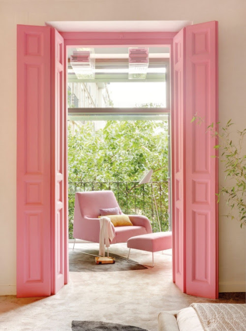 think pink (via Bright Bold and Beautiful)