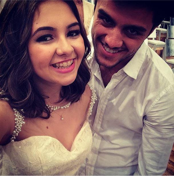 Klara Castanho e Felipe Simas (Foto: Instagram/Reprodução)
