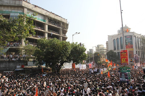 The Last Journey Of Shree Balasaheb Thackeray from Matoshree to Sena Bhavan Dadar by firoze shakir photographerno1