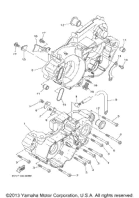 2004 Yamaha YZ250 (YZ250S1) OEM Parts, Babbitts Yamaha