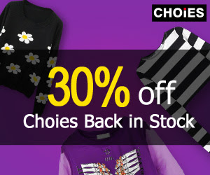 Choies Clearance 30% OFF, free shipping