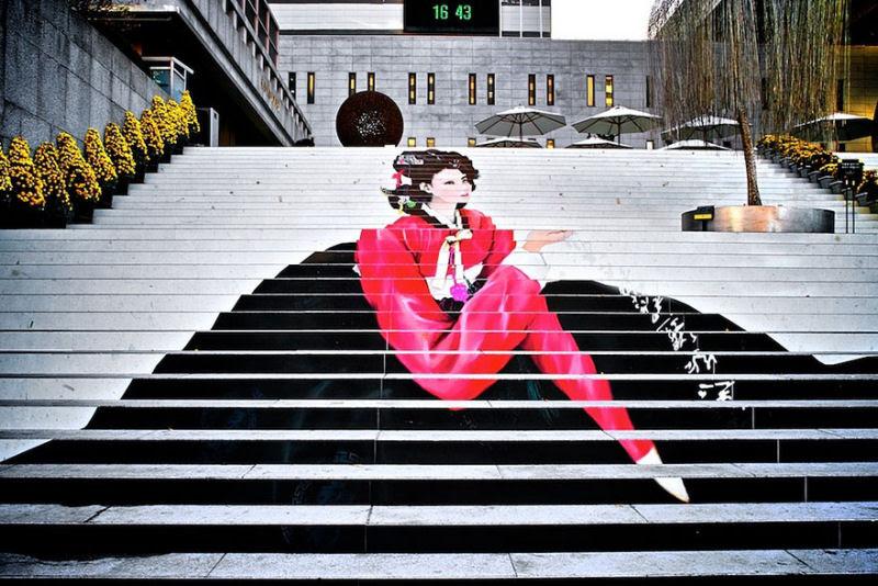 17 escadarias com as mais belas decorações urbanas do mundo 11