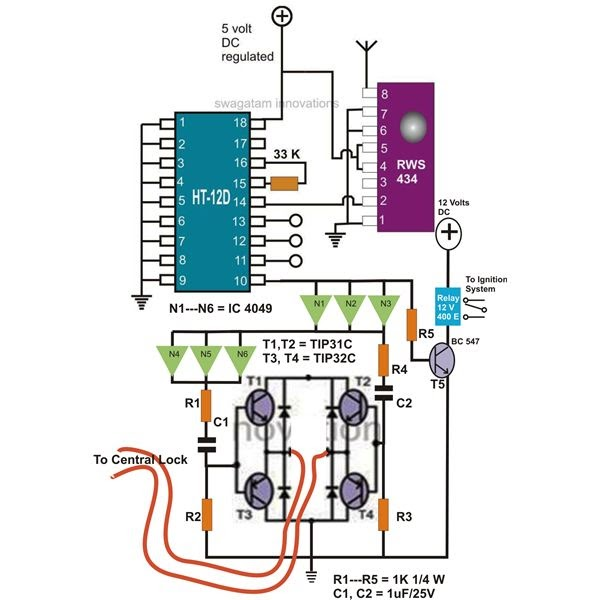 grozzart: how to make wireless remote control car circuit diagram  grozzart - blogger