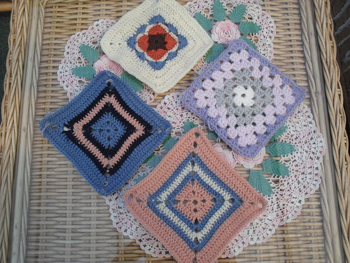 Diemie (Netherlands) Your Squares have arrived! Thank You!