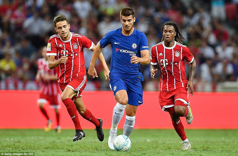 Alvaro Morata was introduced in the second half but the striker was unable to make it a debut goalscoring appearance
