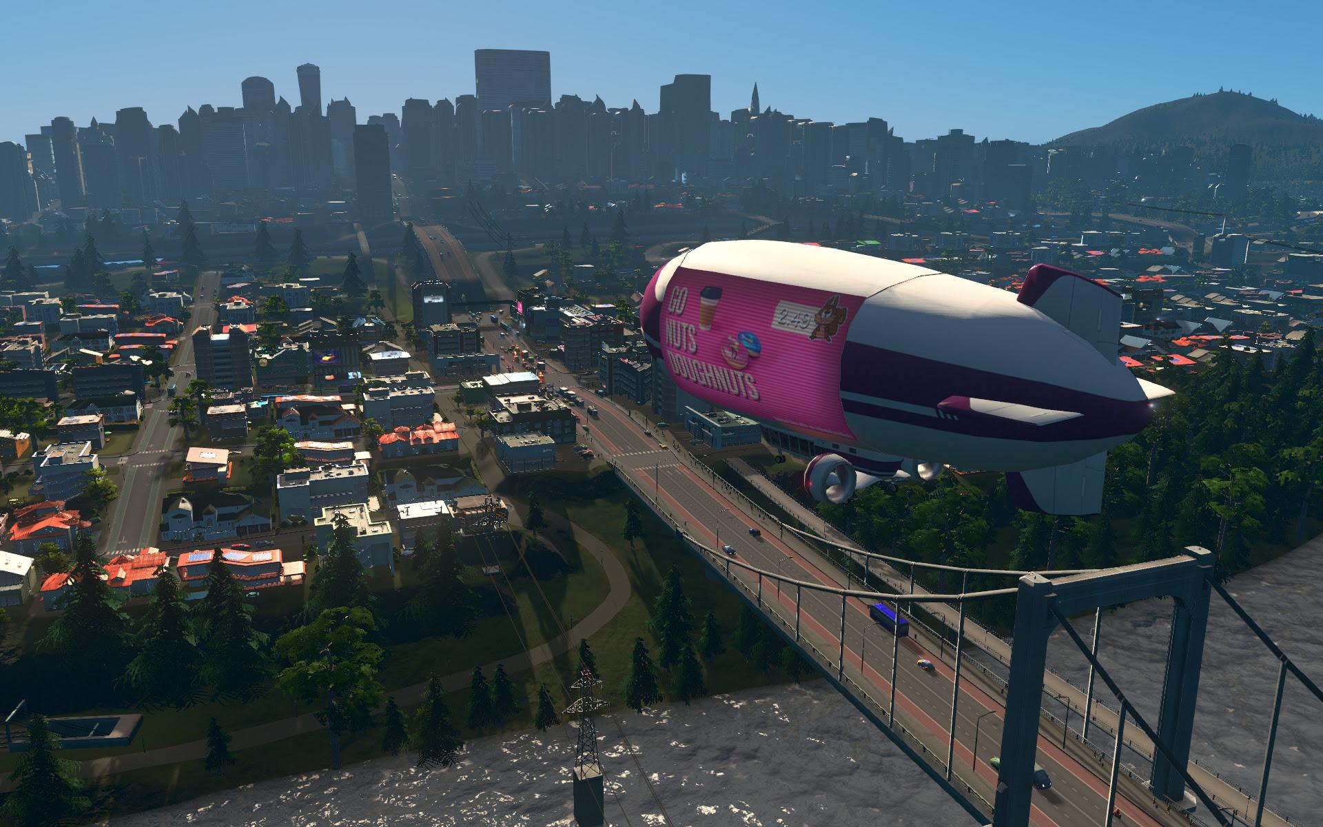 Mass Transit makes Cities: Skylines even more beautiful screenshot