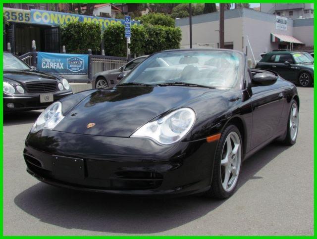 2002 Porsche Carrera 4 911 996 Awd 96k When New Nice Options