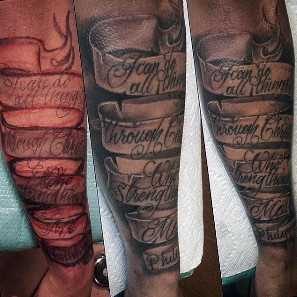 Banner tattoos - Tattoo ideas and Design