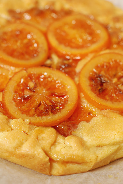 candied blood orange tart© by Haalo