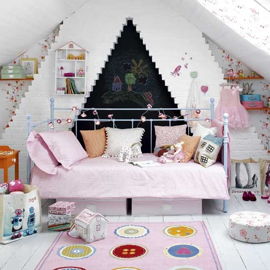 Girl's fairytale bedroom | Bedroom ideas | Image | Housetohome