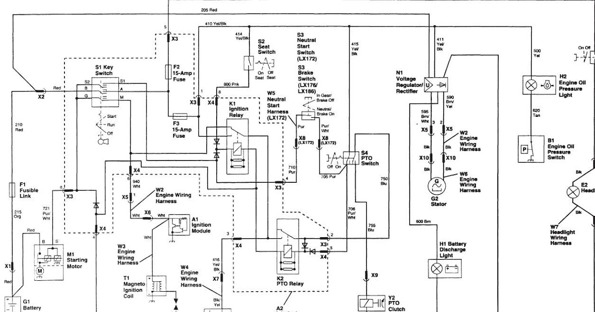 John Deere Lx277 Wiring Diagram