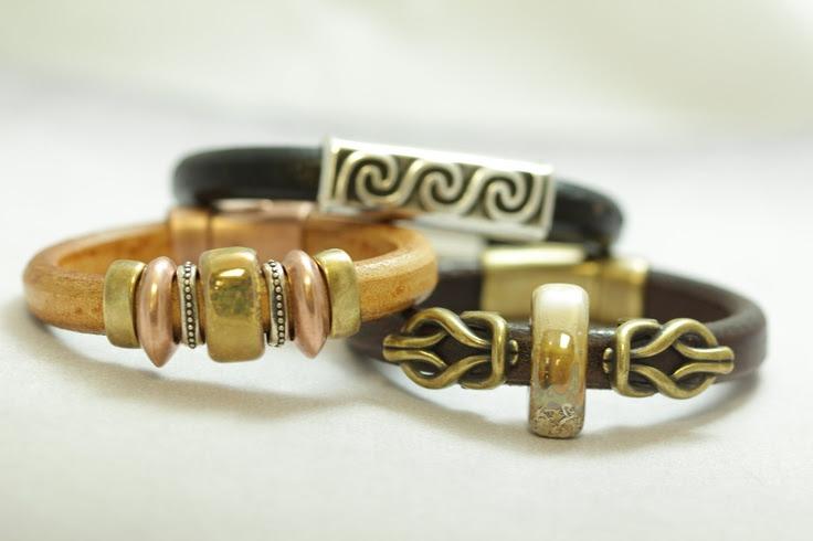 leather bracelets   ... leather bracelet, Regaliz supplies, Regaliz cuff, licorice bracelet