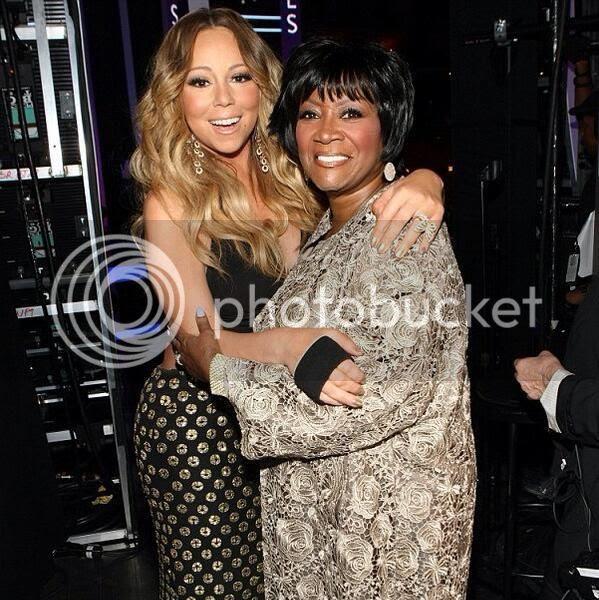 Mariah Carey honours Patti LaBelle at 'Black Girls Rock'...