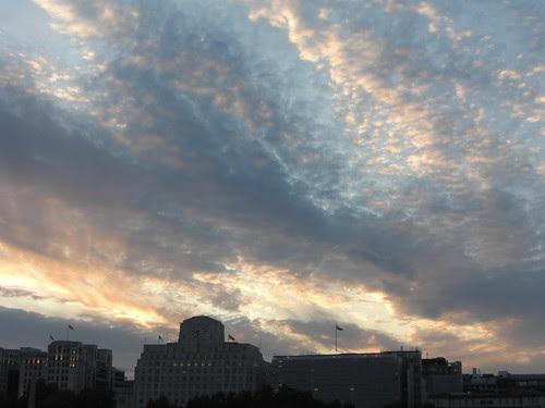 Amazing sky over London